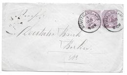 Stuttgart - Brief Nach Berlin - 1886 - Deutschland