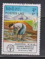 LAOS Scott # 412 Used - Planting Rice - Laos