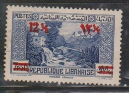 LEBANON Scott # 151 Used - New Value Surcharged - Lebanon