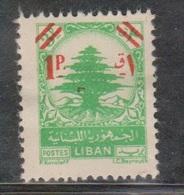 LEBANON Scott # 245 MH - Small Spot Of Missing Gum - Lebanon