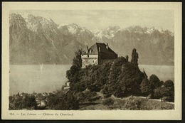 Lac Leman  -  Chateau Du Chatelard  -  Ansichtskarte Ca.1920   (9858) - VD Waadt