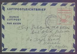 GERMANY Postal History, Postage PAID Aerogramme Stationery, Used 1953 - [7] Federal Republic
