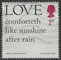 GB 2016 Shakespeare 1st Type 7 Good/fine Used [39/31959/ND] - 1952-.... (Elizabeth II)