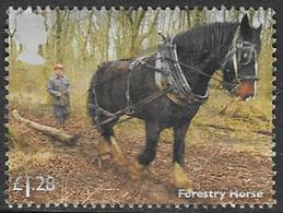 GB 2014 Working Horses £1.28 Type 1 Good/fine Used [21/25325/ND] - 1952-.... (Elizabeth II)