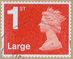 GB SG U2974 2016 Machin 1st Large Red M16L MAIL Good/fine Used [39/31961/ND] - 1952-.... (Elizabeth II)