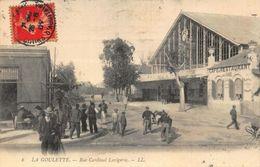 Tunisia La GOulette Rue Cardinal Lavigerie Street Cafe Restaurant Postcard - Tunisia