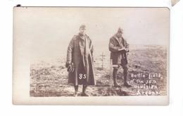 GUERRE 14 18 WW1 Tombes Soldats Americains Morts Bataille Carte Photo 35th Division Graves American Soldiers - Guerre 1914-18