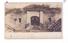 GUERRE 14 18 WW1 SAINT MIHIEL Fort Des Romains Entree   Carte Photo 35th Division Armee Americaine - Guerre 1914-18