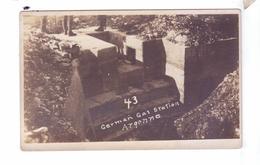 GUERRE 14 18 WW1 Station Essence Allemande Secteur St Mihiel  Carte Photo 35th Division Armee Americaine - Guerre 1914-18