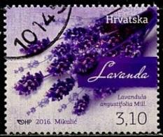 Croatie - Kroatien - Croatia 2016 Y&T N°(4) - Michel N°1218 (o) - 3,10k Lavande - Croazia