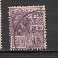 ##28, British Guiana, George V, Bateau, Boat - Guyane Britannique (...-1966)