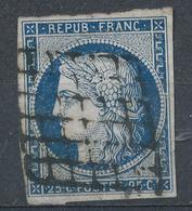 N°4 NUANCE ET OBLITERATION. - 1849-1850 Ceres