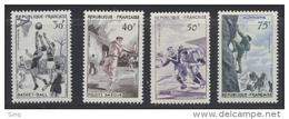 N° 1072 à 1075 Série Sportive 1956 - Frankreich