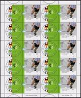 Argentina - 2002 - Football - Coupe Du Monde 2002 - Champions Du Monde De Soccer Du 20e Siècle. - Neufs