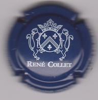 Capsule Champagne COLLET René ( 5 ; Bleu Foncé Et Blanc ) {S08-19} - Non Classés