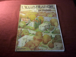 L'ILLUSTRATION  LA MAISON  LE 30 MARS 1929 - 1901-1940