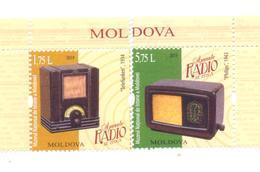 2019. Moldova, Vintage Radio, 2v, Mint/** - Moldova