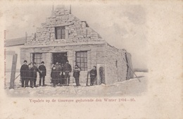 YSPALEIS OP De GOUWZEE Gedurende Den WINTER  // 1894 -95 - Pays-Bas