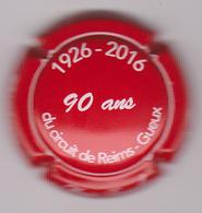 Capsule Champagne BRETON & Fils ( 4 ; Bleu Et Or Pâle ) {S08-19} - Non Classés