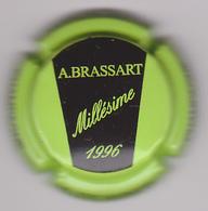 Capsule Champagne BRASSART A. ( 11d ; Vert Pomme Et Noir ) {S08-19} - Champagne