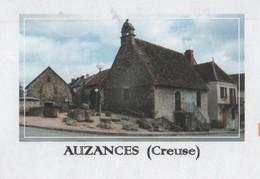AUZANCES 23 CREUSE - VUE DU VILLAGE, FLAMME DU VILLAGE 2010 - PAP ENTIER POSTAL, VOIR LES SCANNERS - Vacances & Tourisme