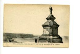 Piece Sur Le Theme De Mers Les Bains Et Le Treport - Vue Prise De Notre Dame De La Fontaine - France