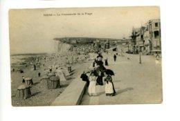 Piece Sur Le Theme De Mers - La Promenade De La Plage - Voyagee En 1906 - France