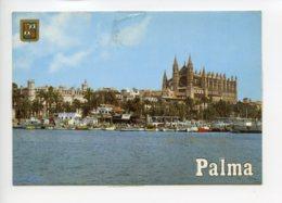 Piece Sur Le Theme De Espagne - Mallorca - Palma - Cathedral Y La Lonja - Voyagee En 1985 - Espagne