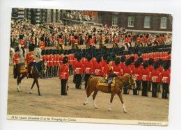 Piece Sur Le Theme De Royaume Uni - H.M. Queen Elizabeth II At The Trooping The Colour - 1979 - Angleterre