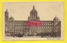 CPA Praha  ֎ Museum ֎ Tramway - Tchéquie