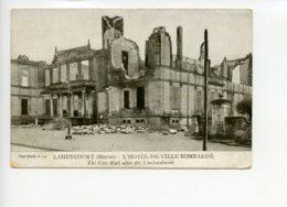 Piece Sur Le Theme De Laheycourt - Meuse - L Hotel De Ville Bombarde - France