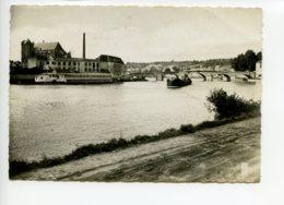 Piece Sur Le Theme De Montereau - L Eglise Et Le Pont Sur L Yonne - CPSM Oblit En 1952 - Montereau