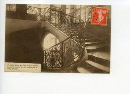 Piece Sur Le Theme De Cluny - Ecole Nationale Des Arts Et Metiers - Rampe D Escalier - Cluny