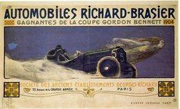 - AUTOMOBILES RICHARD-BRASIER. Gagnantes De La Coupe GORDON BENNETT 1904 - - Voitures De Tourisme