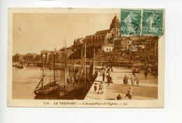 Piece Sur Le Theme De Le Treport - L Avant Port Et L Eglise - Editions Ll - Le Treport