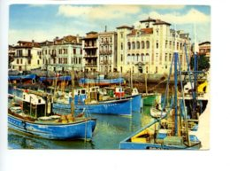 Piece Sur Le Theme De Saint Jean De Luz - Le Port Et La Maison De L Infante - Annees 1970 - Saint Jean De Luz