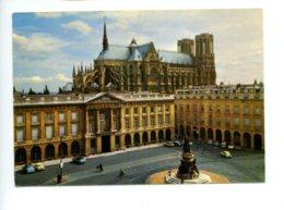 Piece Sur Le Theme De Reims - Marne - La Place Royale Et La Cathedrale - Reims