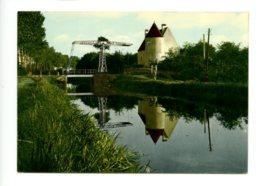 Piece Sur Le Theme De Tannay - Nievre - Les Bords Du Canal - Tannay