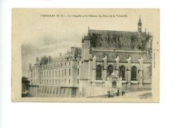 Piece Sur Le Theme De Thouars - La Chapelle Et Le Chateau Des Ducs De La Tremoille - Thouars