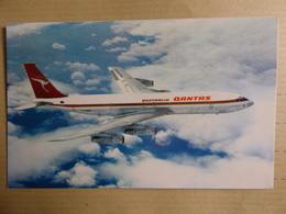 AIRLINE ISSUE / CARTE COMPAGNIE   QANTAS  B 707 - 1946-....: Era Moderna