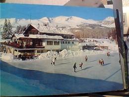 SUISSE SVIZZERA SWITZERLAND -SCHWEIZ  CRANS SUR SIERRE PATTINAGGIO  SPORTING  V1972 HA8021 - VS Valais
