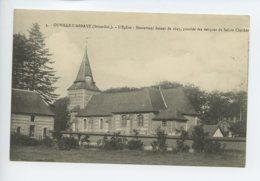 Piece Sur Le Theme De Ouville L Abbaye - L Eglise - Monument Datant De 1645 - France