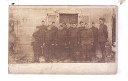 GUERRE 14 18 WW1 Soldats Americains Uniformes  Carte Photo Armee Americaine - Guerre 1914-18