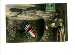 Piece Sur Le Theme De Guerre - La France Vidant Sa Bourse Pour La Maitrise De L Air - Guerre 1914-18