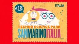 ITALIA - Usato - 2015 - Parco Scientifico Tecnologico San Marino-Italia - Robot - 0,95 - 6. 1946-.. Repubblica