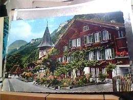 SUISSE SVIZZERA SWITZERLAND -SCHWEIZ  MEIRINGEN ALTE DORFPARTIE  VB1960 HA8026 - BE Berne