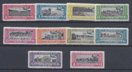 GUATEMALA 1937 QUETZAL AIR MAIL Nº 65/74 - Guatemala