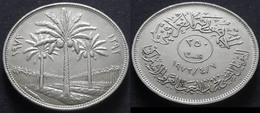 IRAQ - 250 FILS - 1972 - KM 135 - SILVER JUBILEE OF AL BAATH PARTY - Iraq