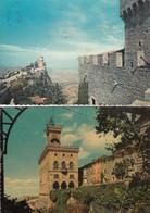 9192- N°. 4 CARTOLINE REPUBBLICA DI SAN MARINO-FG - San Marino