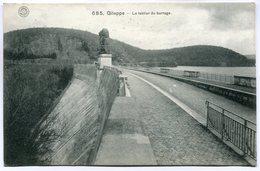 CPA - Carte Postale - Belgique - Gileppe - Le Tablier Du Barrage - 1913 (M7403) - Gileppe (Stuwdam)